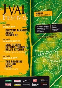 Affiche Jval Festival 2009